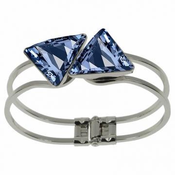 Bratara cu cristale Swarovski FaBOS, Denim blue 7450-1086-03