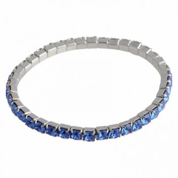 Bratara cu cristale Swarovski FaBOS, Sapphire 7450-1282-06
