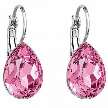Cercei cu cristale Swarovski FaBOS, Rose 7440-5681-03