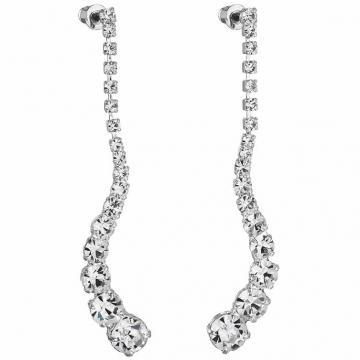 Cercei cu cristale Swarovski FaBOS, Crystal 7440-5001-02