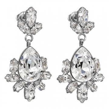 Cercei cu cristale Swarovski FaBOS, Crystal 7440-5781-02