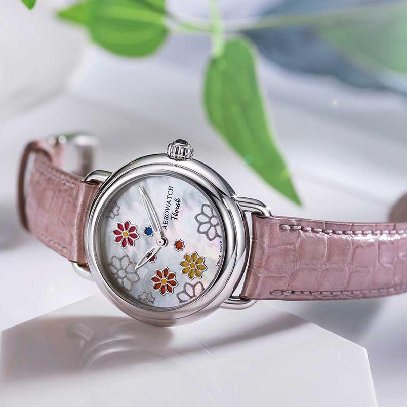 Ceas Aerowatch Floral 44960 AA01