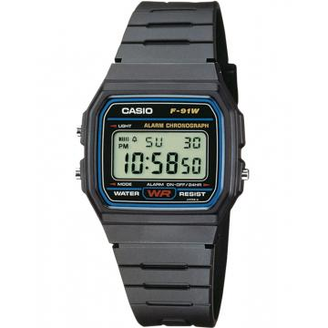 Ceas Casio Collection F-91W-1YER