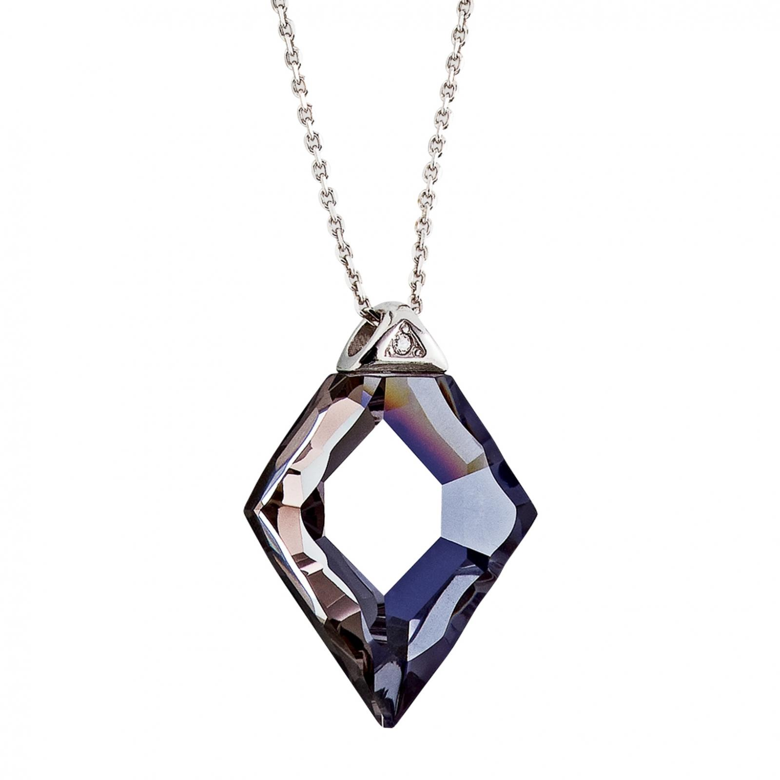Pure Rainbow - Colier de argint Preciosa (Blue Star)