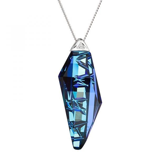 Flawless Elegance - Colier de argint Preciosa (Bermuda Blue)