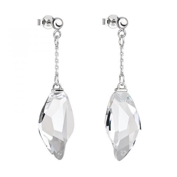 Crystal Tear - Cercei de argint Preciosa (Crystal)