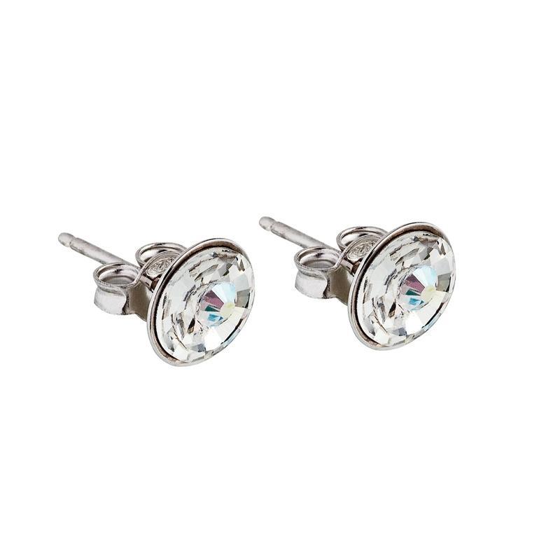 Sparkling Shine - Cercei de argint Preciosa (Crystal AB)