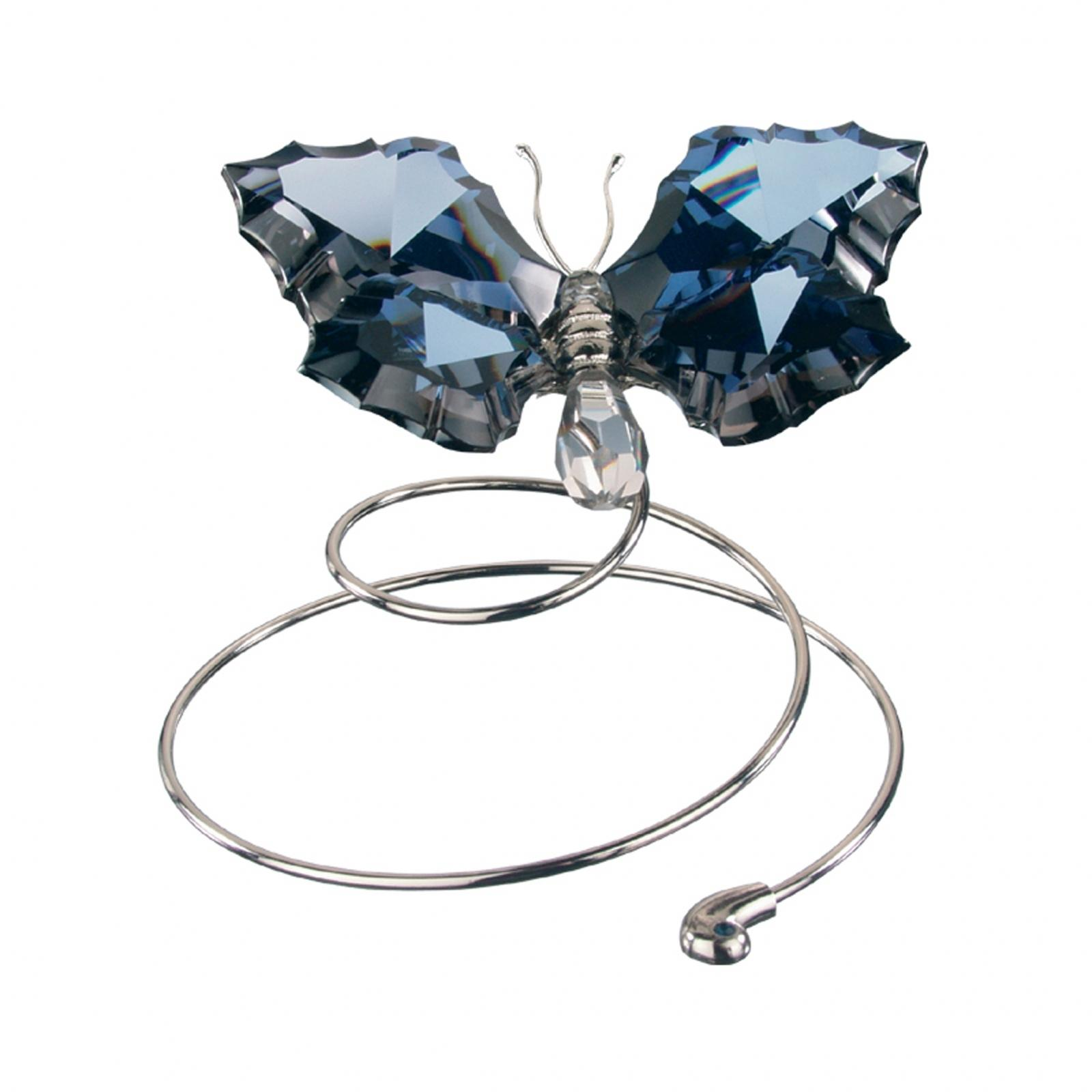 Figurina cristal Preciosa - Flying Butterfly (Dark)