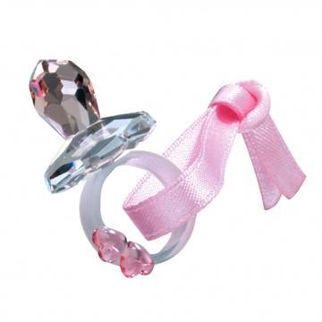 Figurina cristal Preciosa - Pacifier (Pink)
