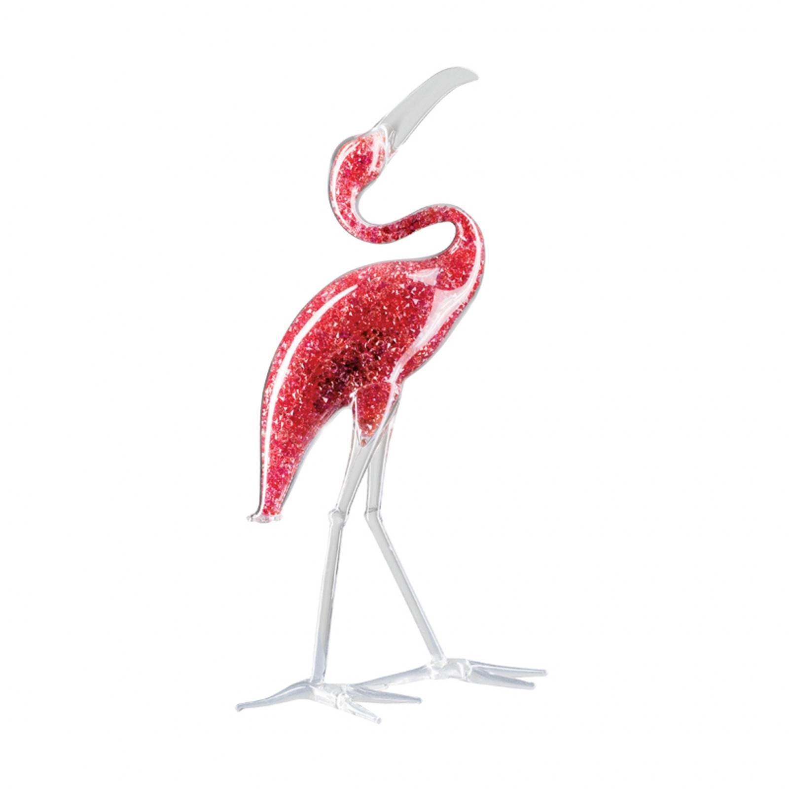 Figurina cristal Preciosa - Scarlet Ibis