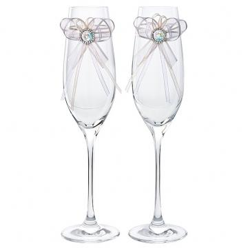 Pahare de cristal Preciosa - Wedding Set