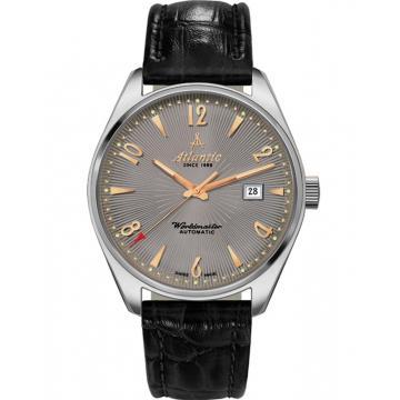 Ceas Atlantic Worldmaster Art Deco 51752.41.45R