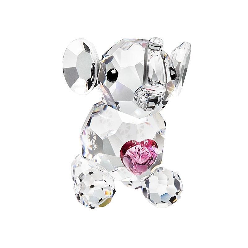 Figurina cristal Preciosa Miniature - Elephant Calf