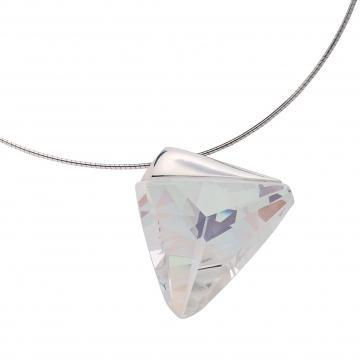 Veronique - Colier de argint Preciosa (Crystal AB)