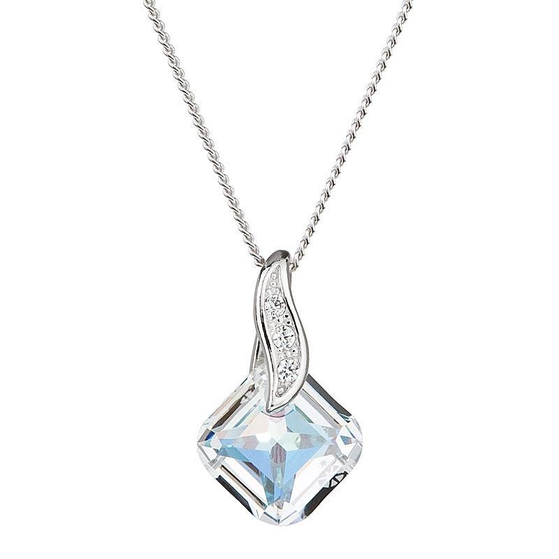 Feminine Charm - Colier de argint Preciosa (Crystal AB)