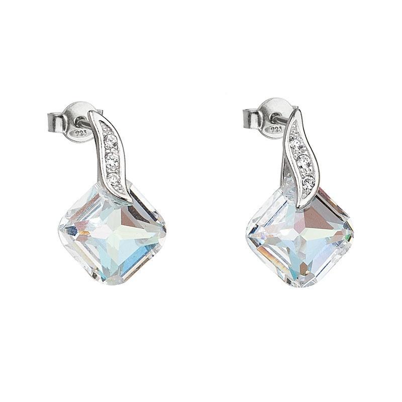 Feminine Charm - Cercei de argint Preciosa (Crystal AB)