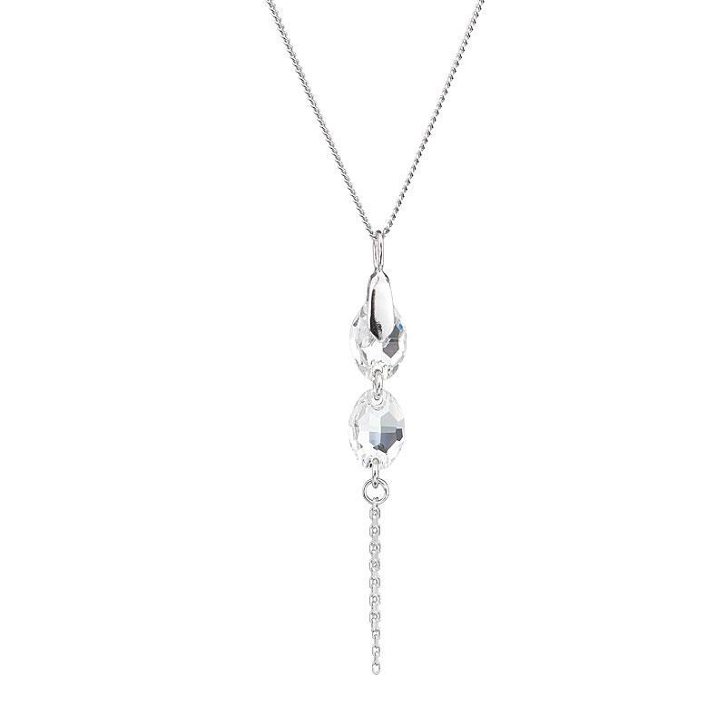 Dreamy Look - Colier de argint Preciosa (Crystal)
