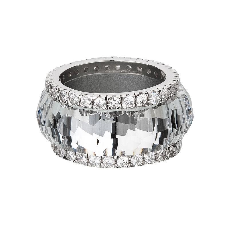 De luxe - Inel de argint Preciosa (Crystal)