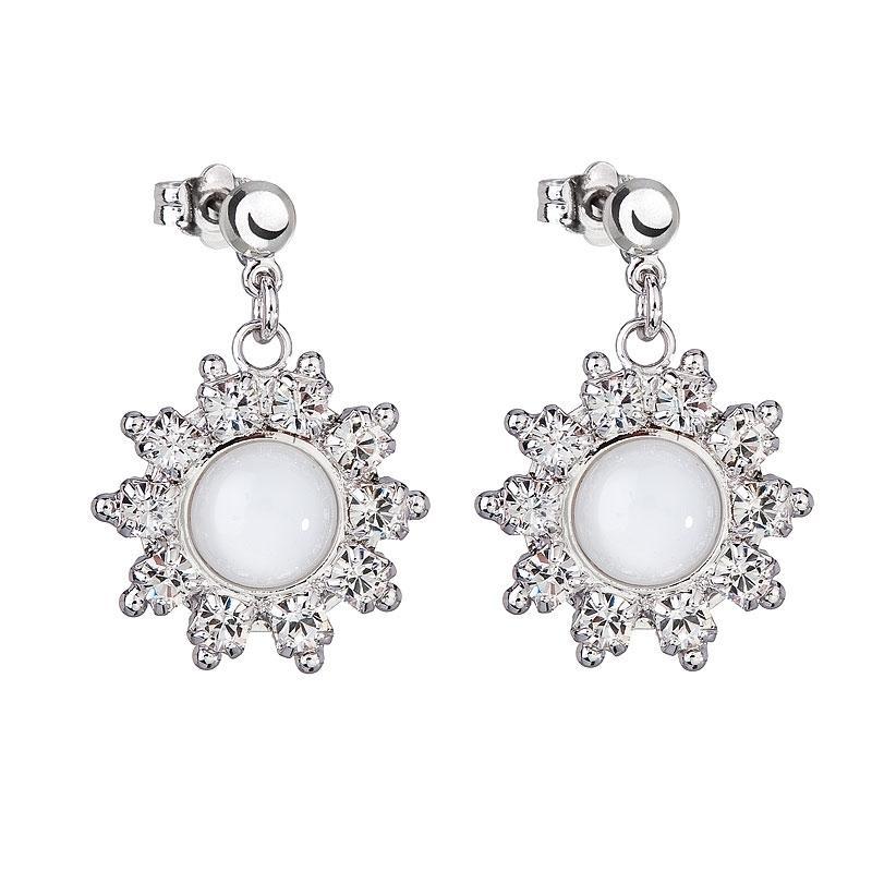 Bianca - Cercei Preciosa (White)
