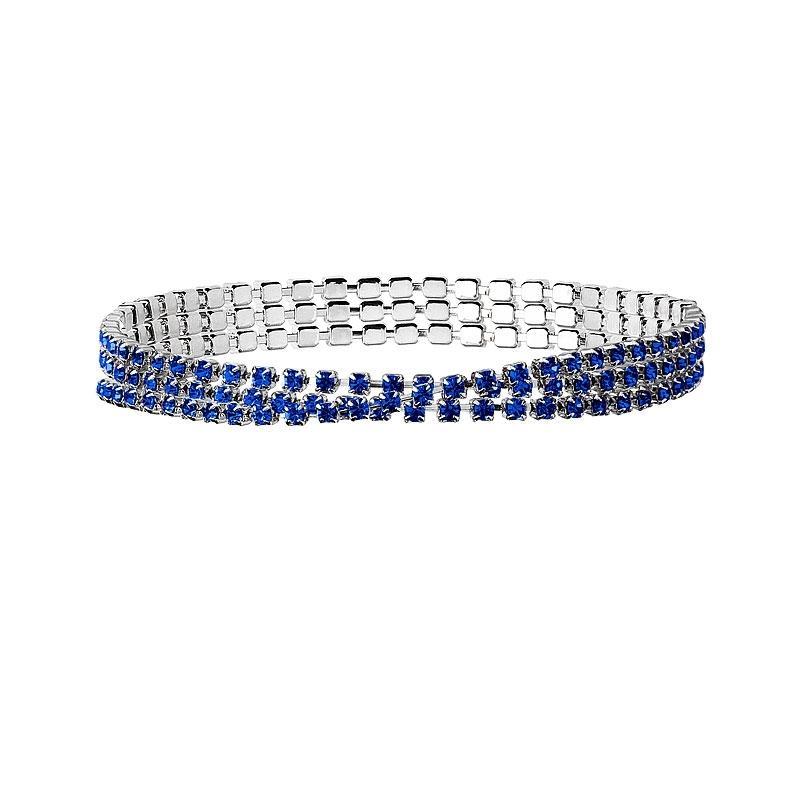Jillianne - Bratara Preciosa (Sapphire, 2.5 mm)
