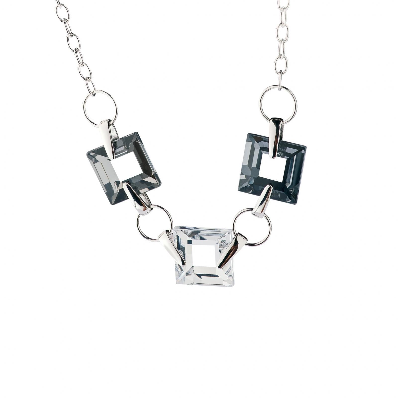 Galaxias (N) - Colier de argint Preciosa (Crystal)