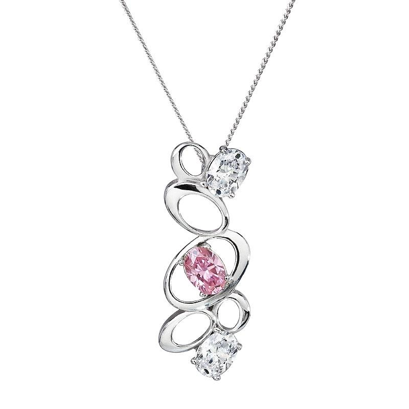 Appealing - Colier de argint Preciosa (Rosa)