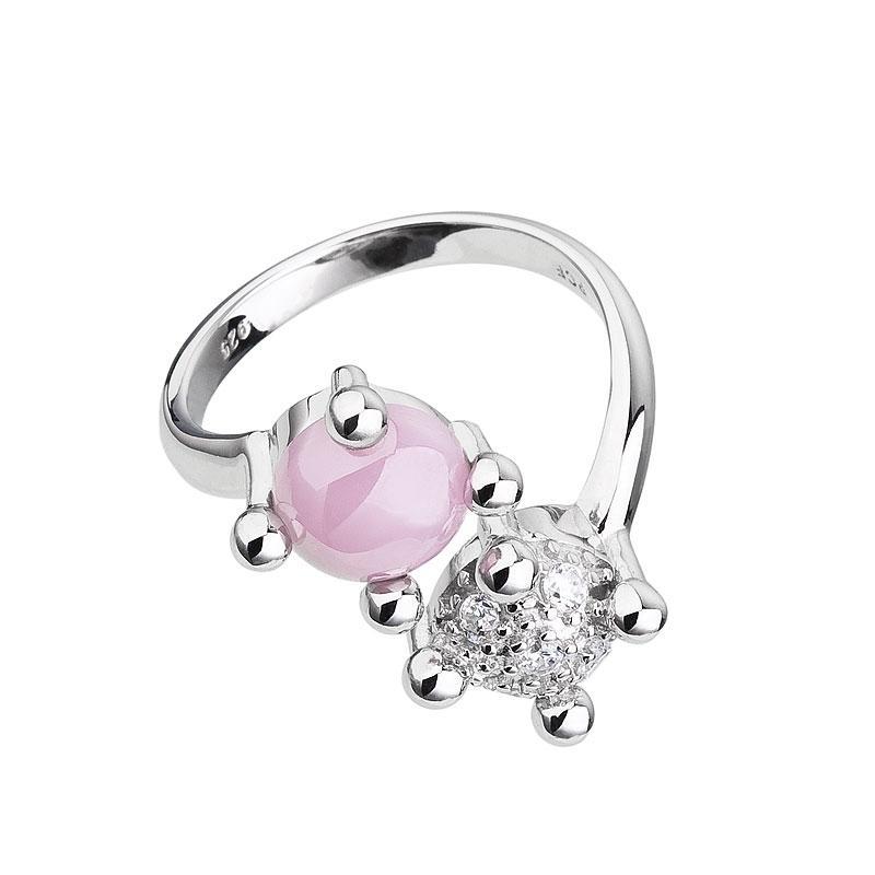Blossoms - Inel de argint Preciosa (Rosa)