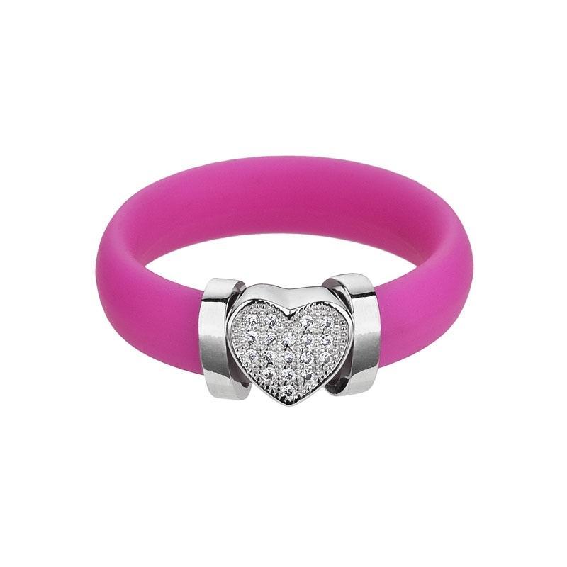 A la mode - Inel (C) de argint Preciosa (Rosa)
