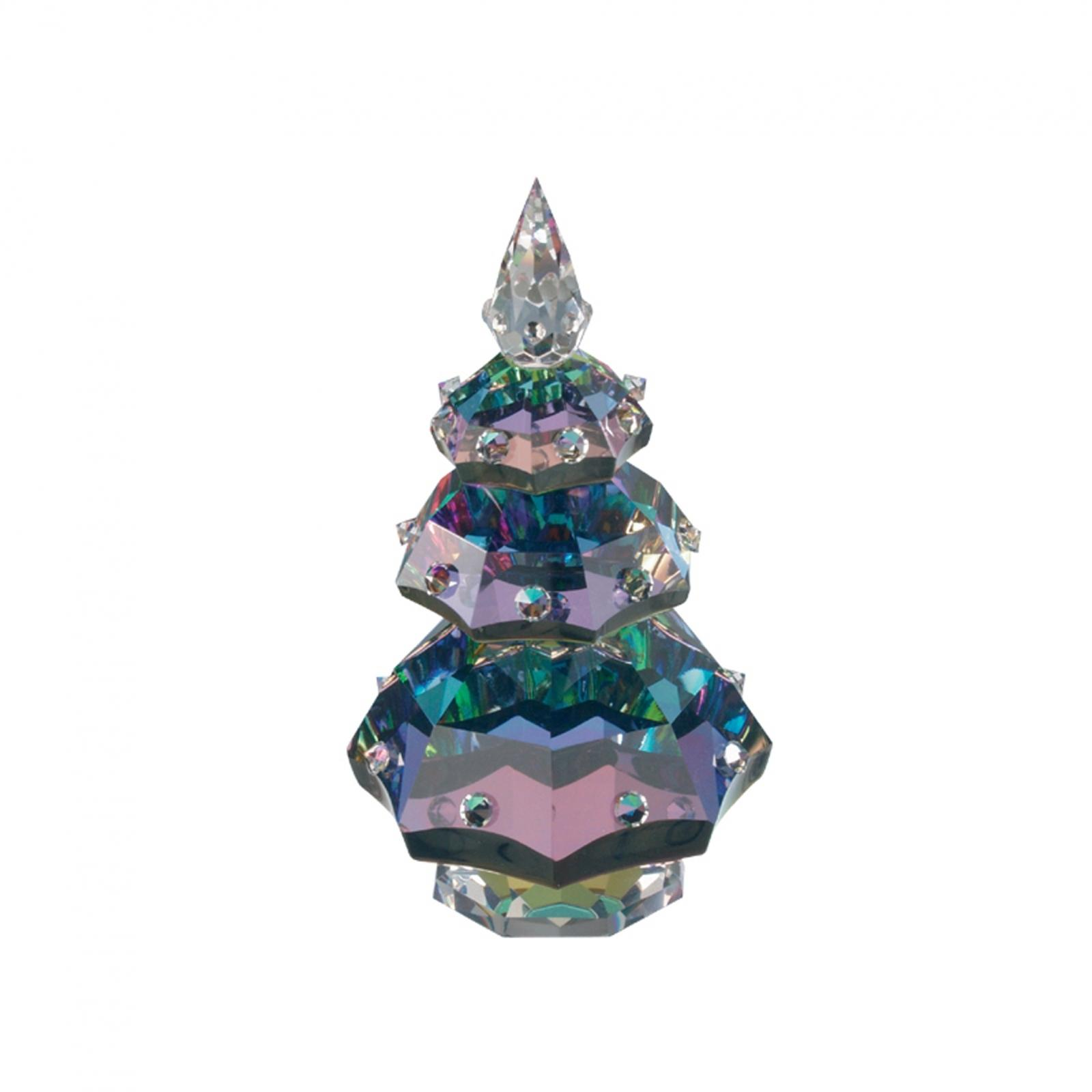 Figurina cristal Preciosa - Christmas Tree (Vitrail Light)