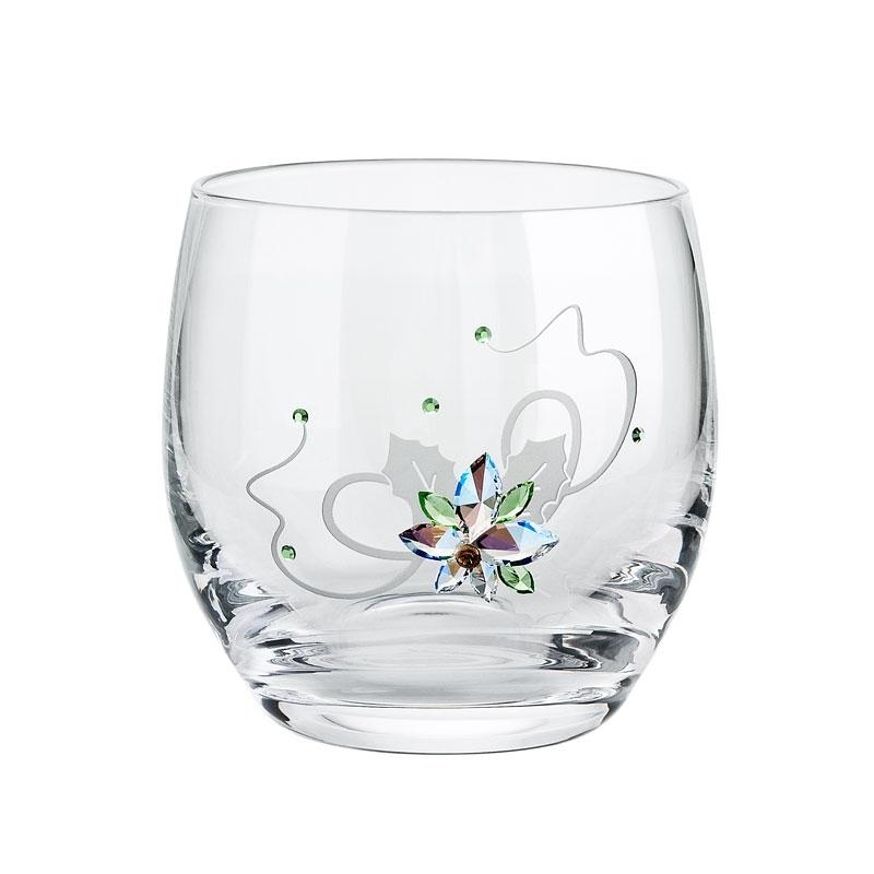 Figurina cristal Preciosa - Poinsettia (Candle holder)
